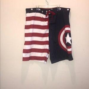 Marvel Swim - Marvel men's swim trunks. XL